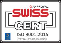 Bergmann Kord: Swiss cert approval - ISO 9001:2015