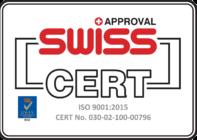 Bergmann Kord: Swiss cert approval - CERT 9001:2015