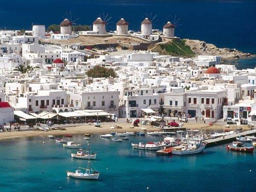 Греция для пересадки волос. Остров Миконос.