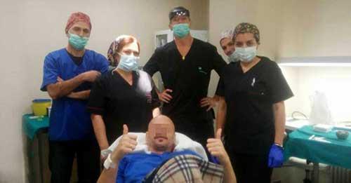 Μεταμόσχευση Μαλλιών - Λάρισα 21/12/2016