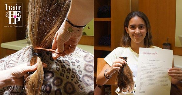 HAIR for HELP - ΑΛΕΞΑΝΔΡΑ ΧΑΤΖΗΠΑΝΤΕΛΗ