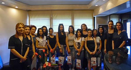 Επίσκεψη ΙΕΚ Νεάπολης - Bergmann Kord Θεσσαλονίκη