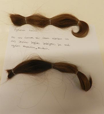 Μαριαλένα - HAIR for HELP