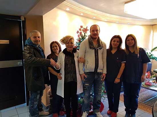 Κος Τερμετζίδης - Μεταμόσχευση Μαλλιών FUT (Strip) - Θεσσαλονίκη 28/12/2016