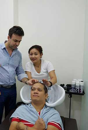 Σεμινάριο Θεραπειών κατά της Τριχόπτωσης - Φιλιππίνες